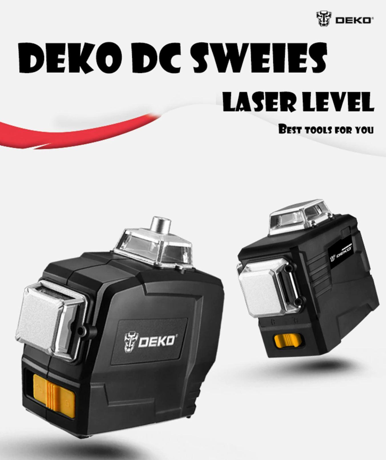 Najlepsze narzędzia z Aliexpress - promocja produktów marki DEKO - DEKO DC SWEIES