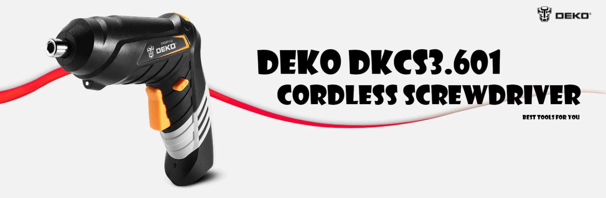 Najlepsze narzędzia z Aliexpress - promocja produktów marki DEKO - wkrętarka DEKO DKCS3.601