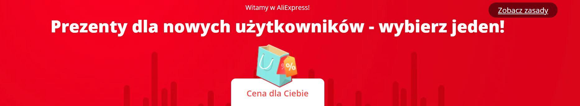 Oferty dla nowych klientów Aliexpress