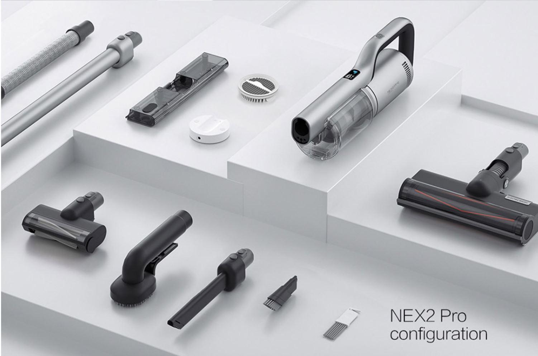 ROIDMI NEX 2 Pro - zestaw akcesoriów odkurzacza