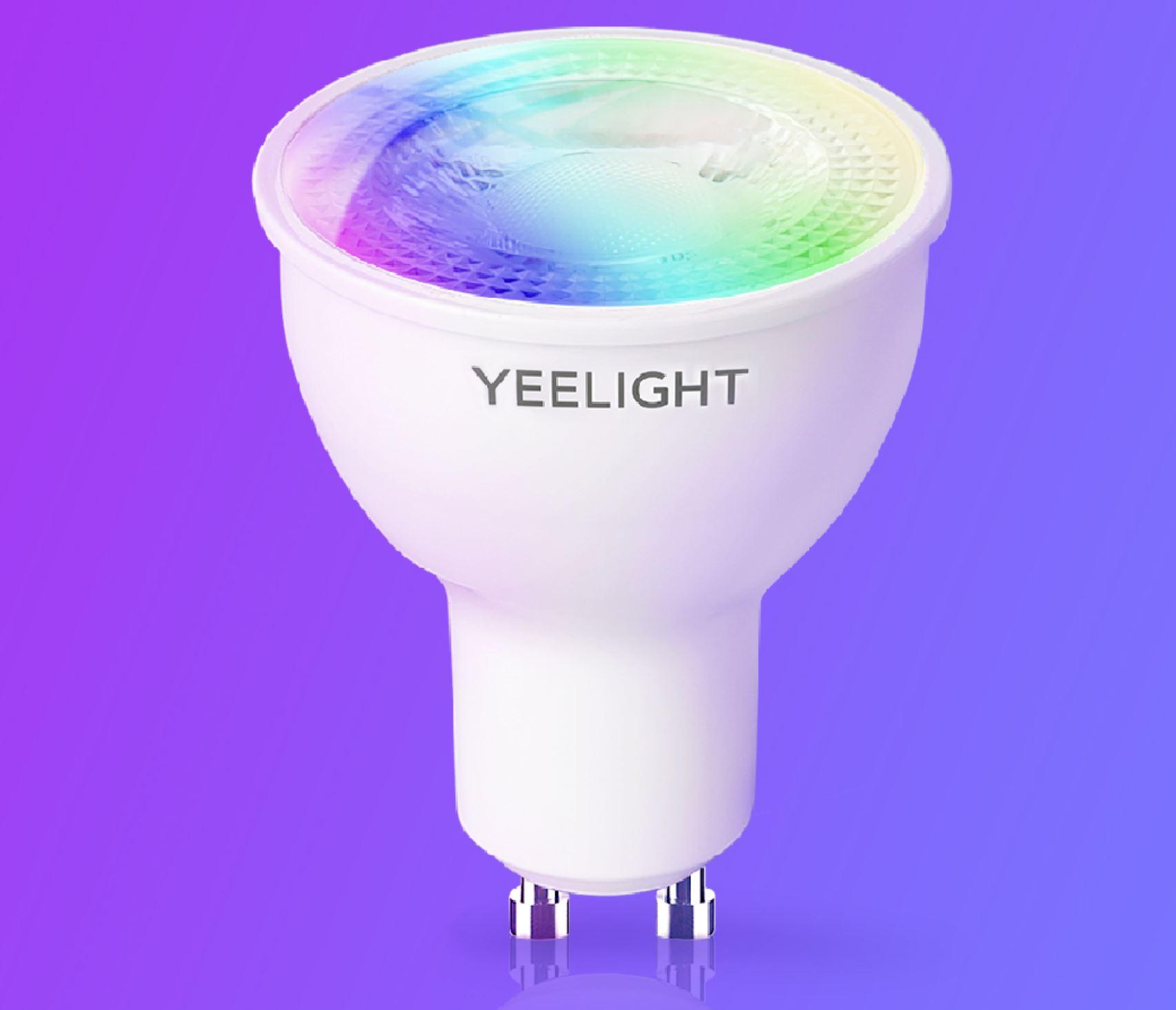 Rozświetl swój dom z Yeelight - świetna oferta na inteligentne żarówki, lampy i plafony - inteligentna żarówka GU10