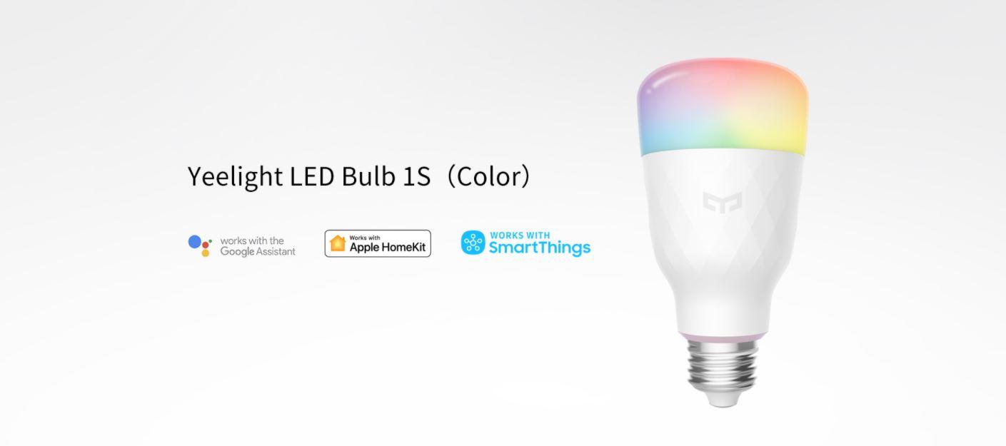 Rozświetl swój dom z Yeelight - świetna oferta na inteligentne żarówki, lampy i plafony - inteligentna żarówka Yeelight LED 1S