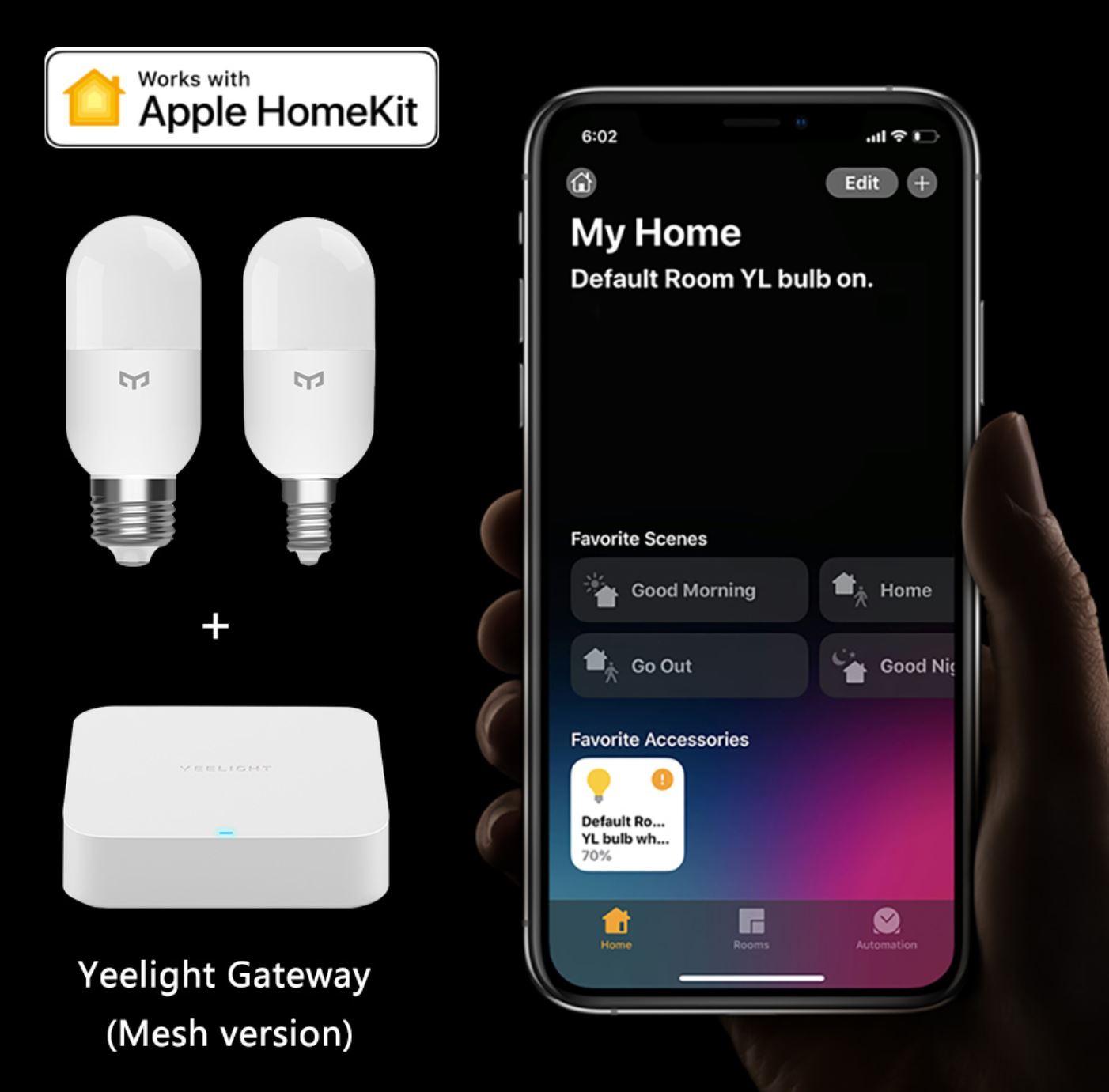 Rozświetl swój dom z Yeelight - świetna oferta na inteligentne żarówki, lampy i plafony - inteligentna żarówka Yeelight LED M2 sterowanie