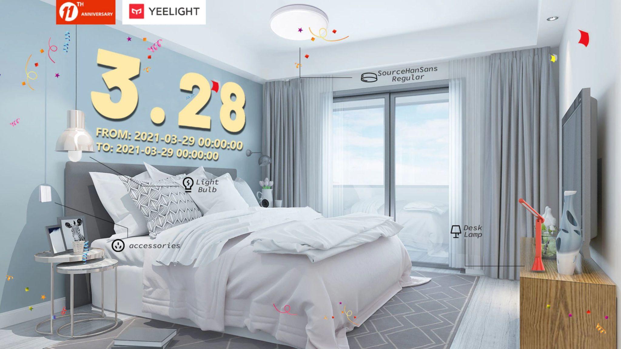 Rozświetl swój dom z Yeelight - świetna oferta na inteligentne żarówki, lampy i plafony