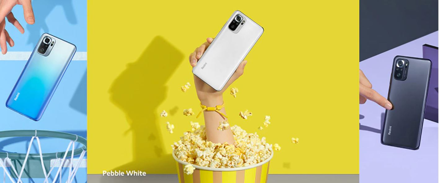 Xiaomi Redmi Note 10S - kolaż zdjęć telefonu