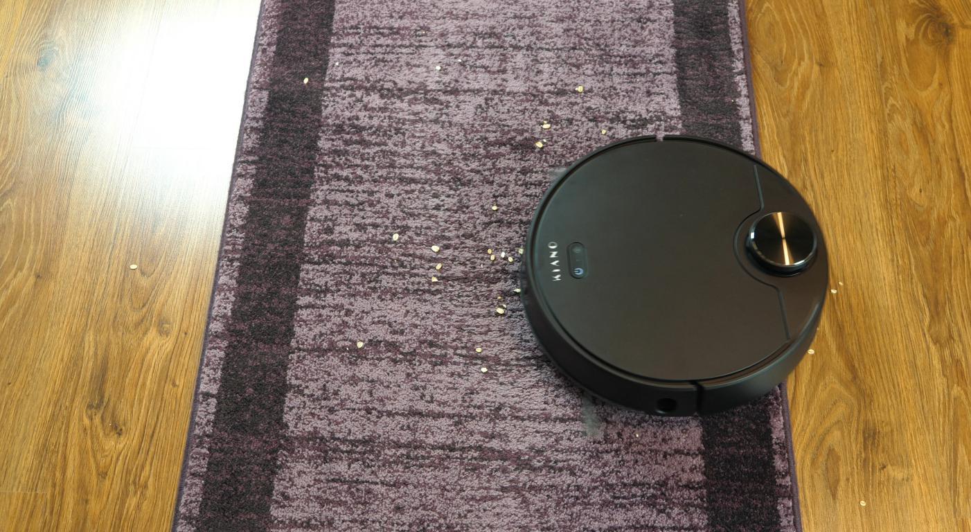 Kiano Elegance Robot - odkurzanie dywanów
