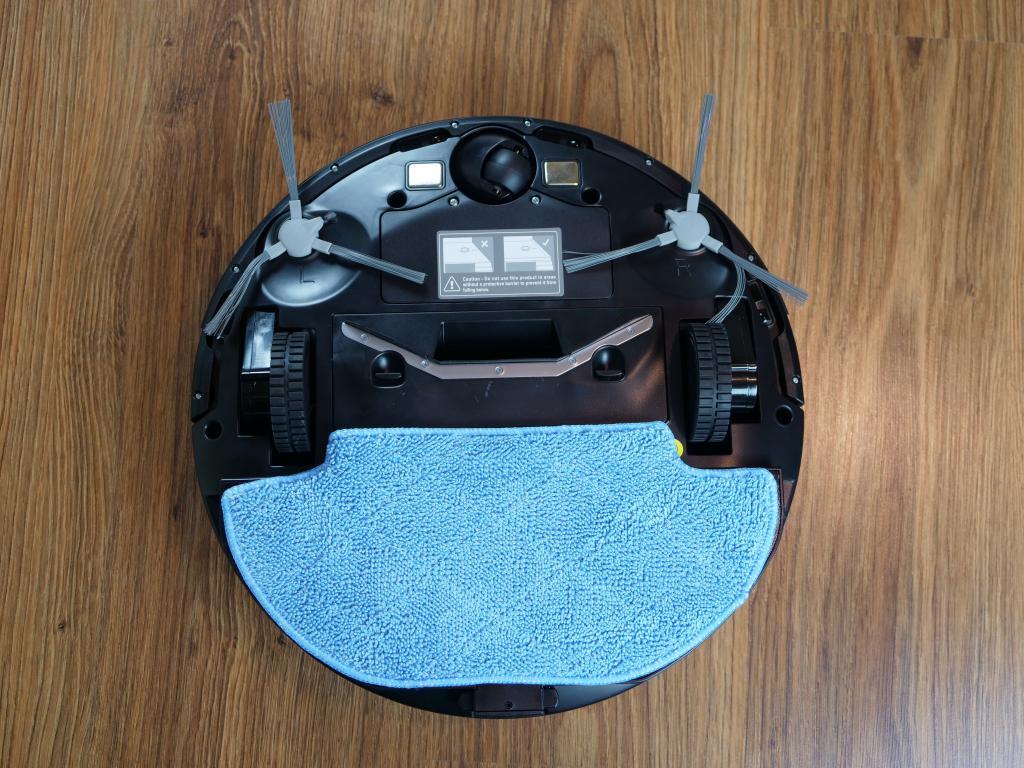 Kiano Elegance Robot - recenzja robota sprzątającego z laserową nawigacją w super cenie - mop