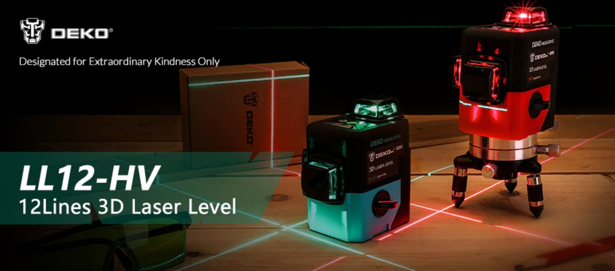 Najlepsze narzędzia z Aliexpress - promocja produktów marki DEKO - poziomica LL12-HV