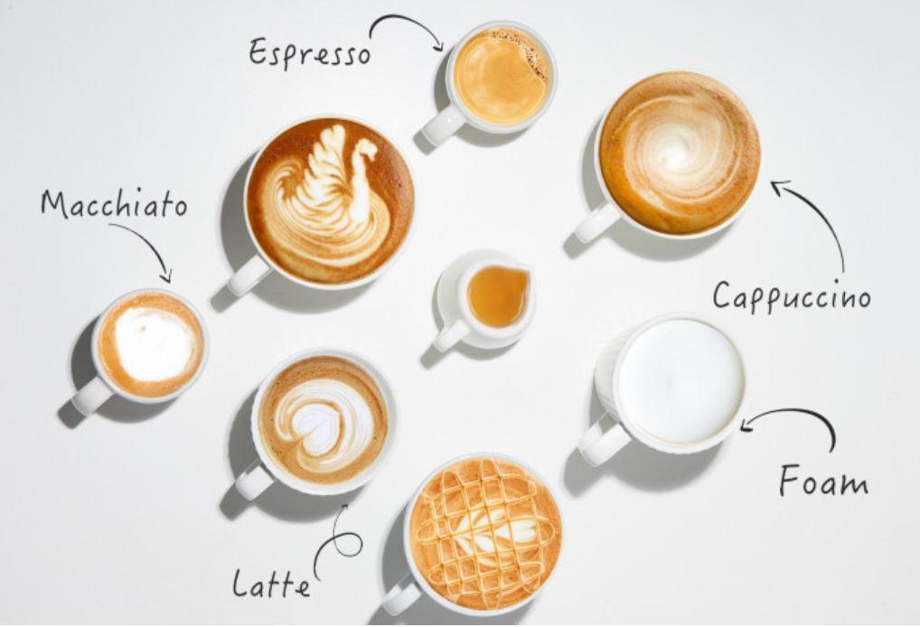 Youpin SEVEN & ME - ekspres do kawy ze spieniaczem mleka w jednym z Aliexpress - kawy z góry