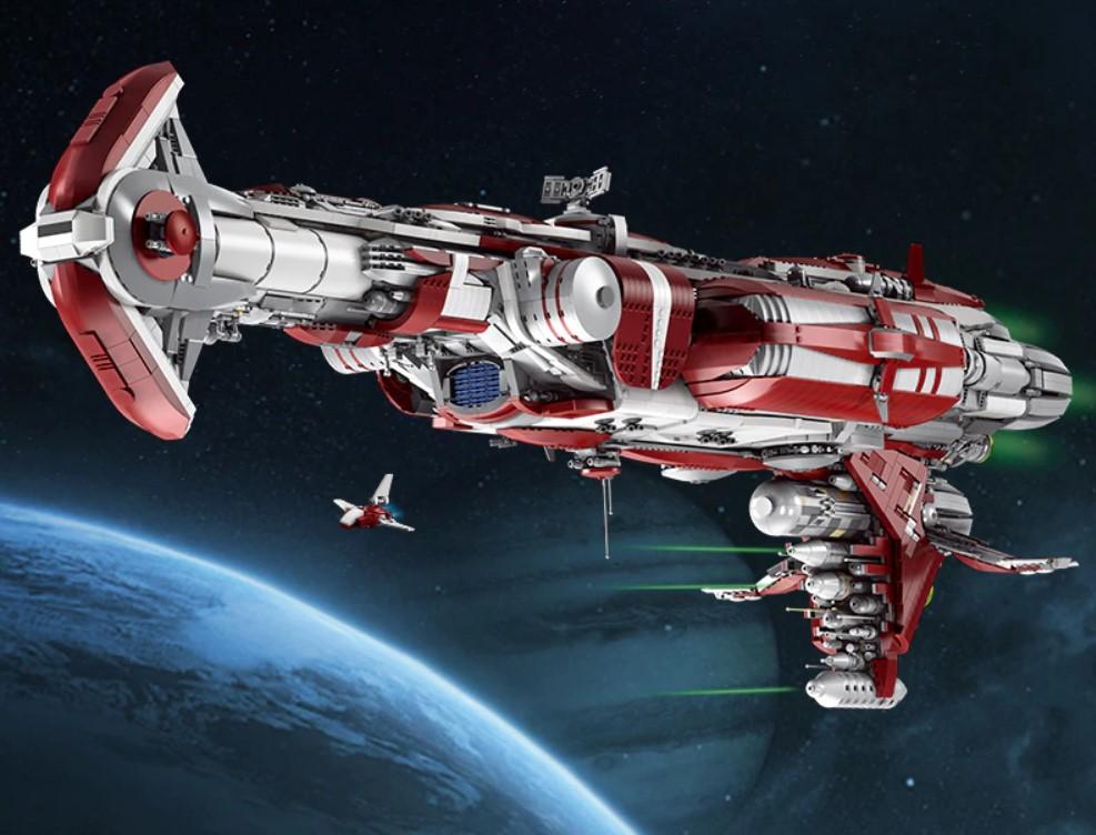 Aliexpress - klocki lego star wars - krążownik starej republiki