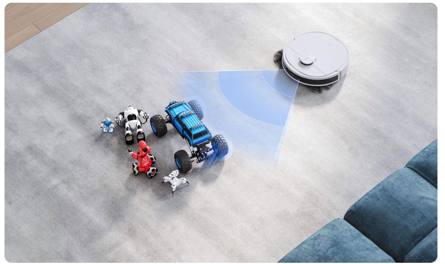 Ecovacs Deebot N8 Pro - robot sprzątający