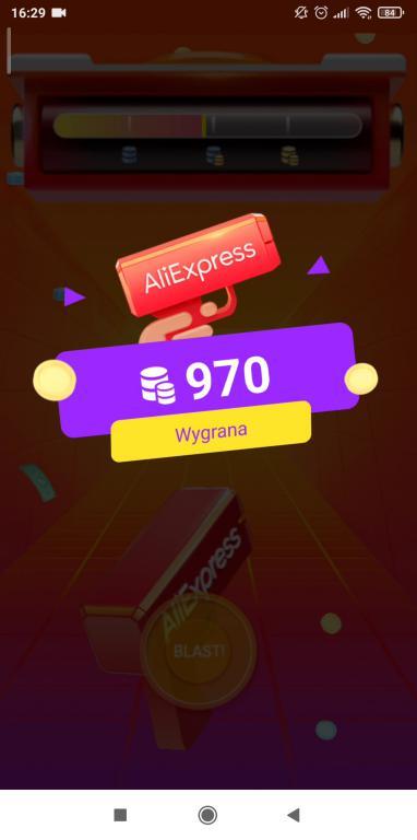 Jak zdobyć kupony Aliexpress - gry i zabawy w aplikacji na smartfony - kumple od kuponów - wygrana