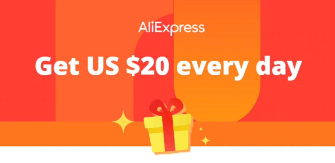 Kupony rabatowe w aplikacji Aliexpress