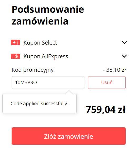Poco M3 Pro - premiera smartfona na Aliexpress - kupon rabatowy