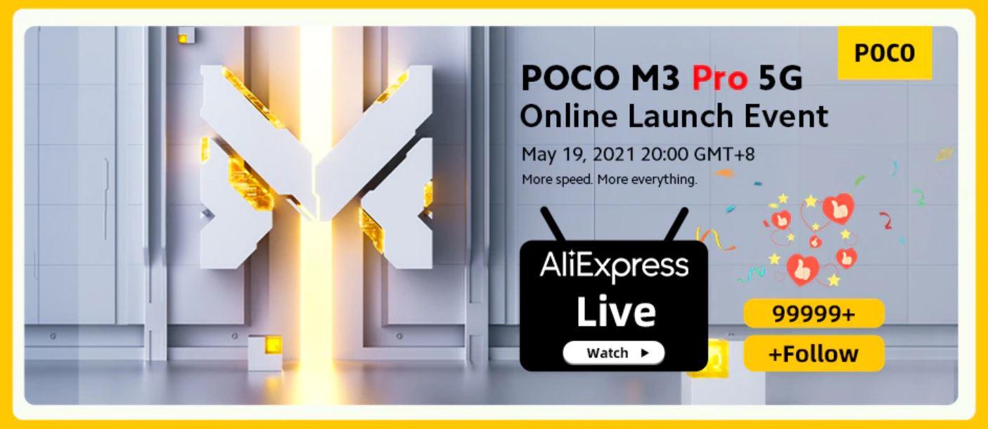 Premiera smartfona POCO M3 Pro 5G