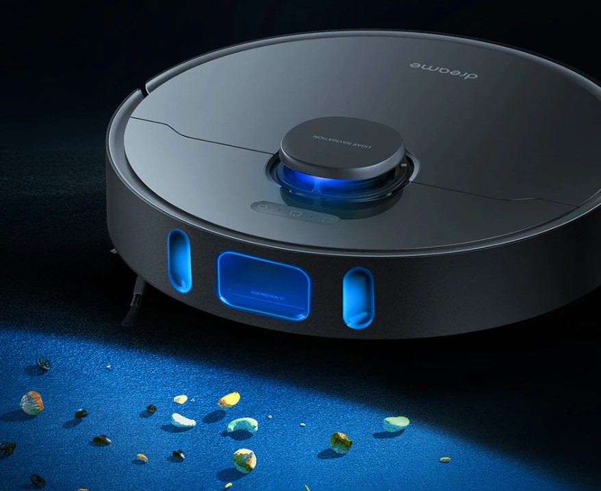 Premiery Aliexpress - nowy robot sprzątający Dreame Bot L10 Pro - wykrywanie brudu