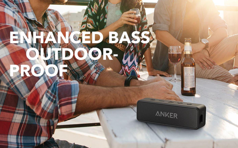 Święto marki Anker na Aliexpress - Anker Soundcore 2 Portable Bluetooth Wireless Speaker