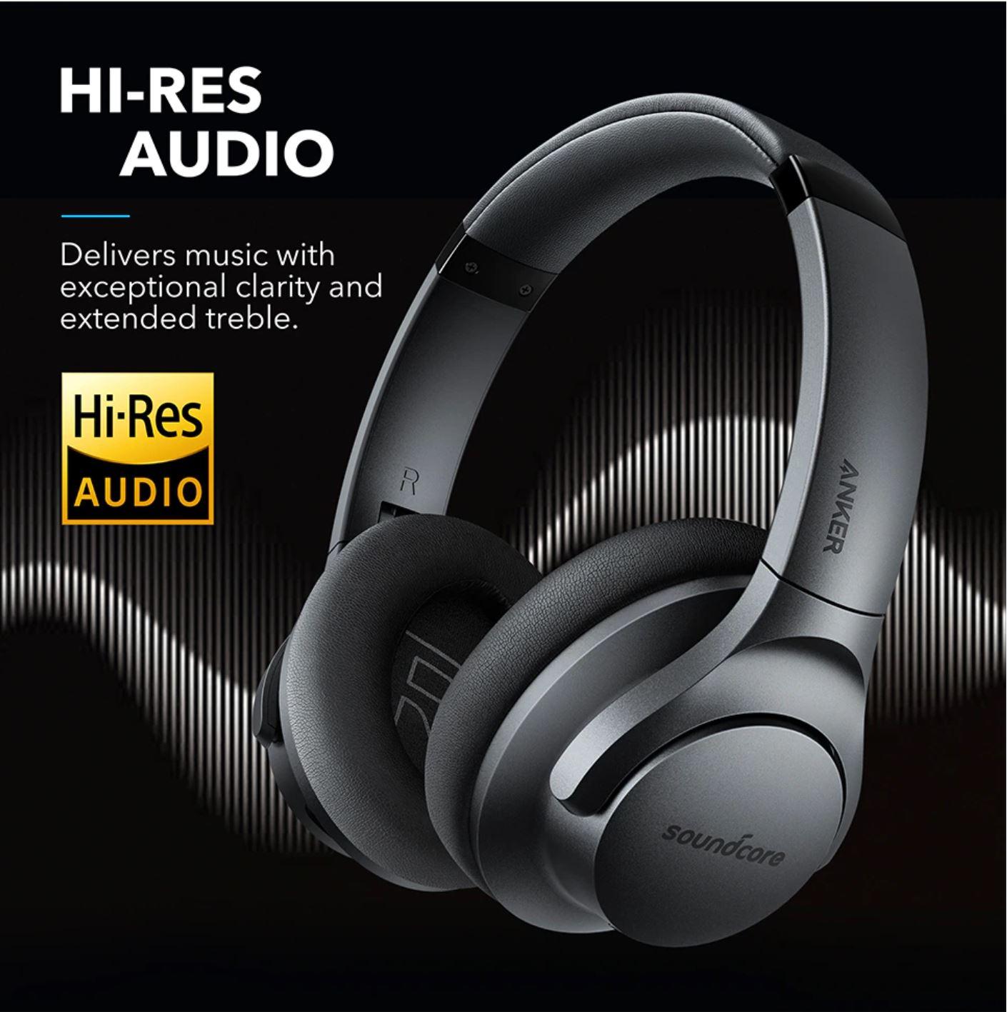 Święto marki Anker na Aliexpress - Anker Soundcore Life Q20 Hybrid Active Noise Cancelling Headphones