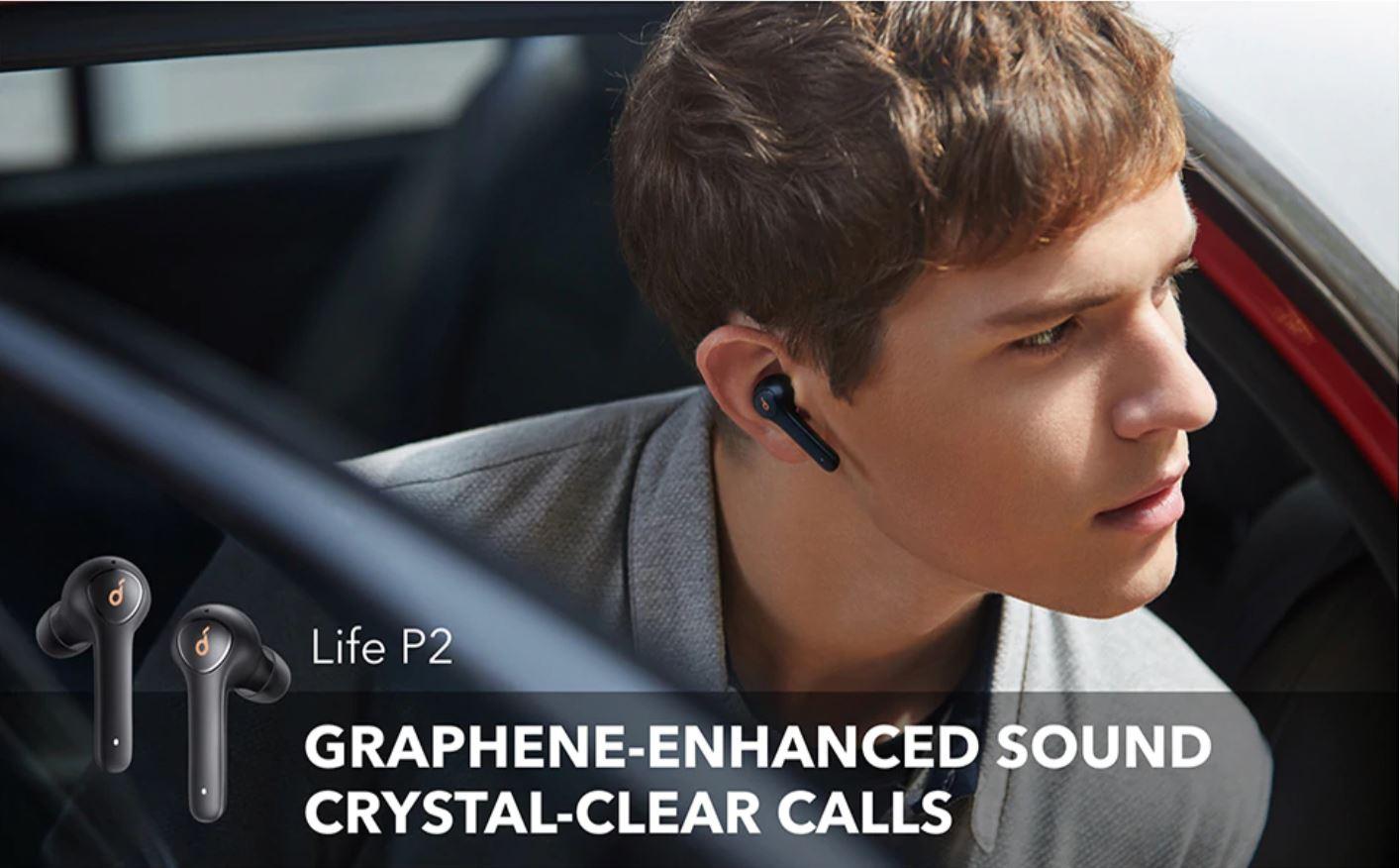 Święto marki Anker na Aliexpress - słuchawki Anker Soundcore Life P2 True Wireless Earphones