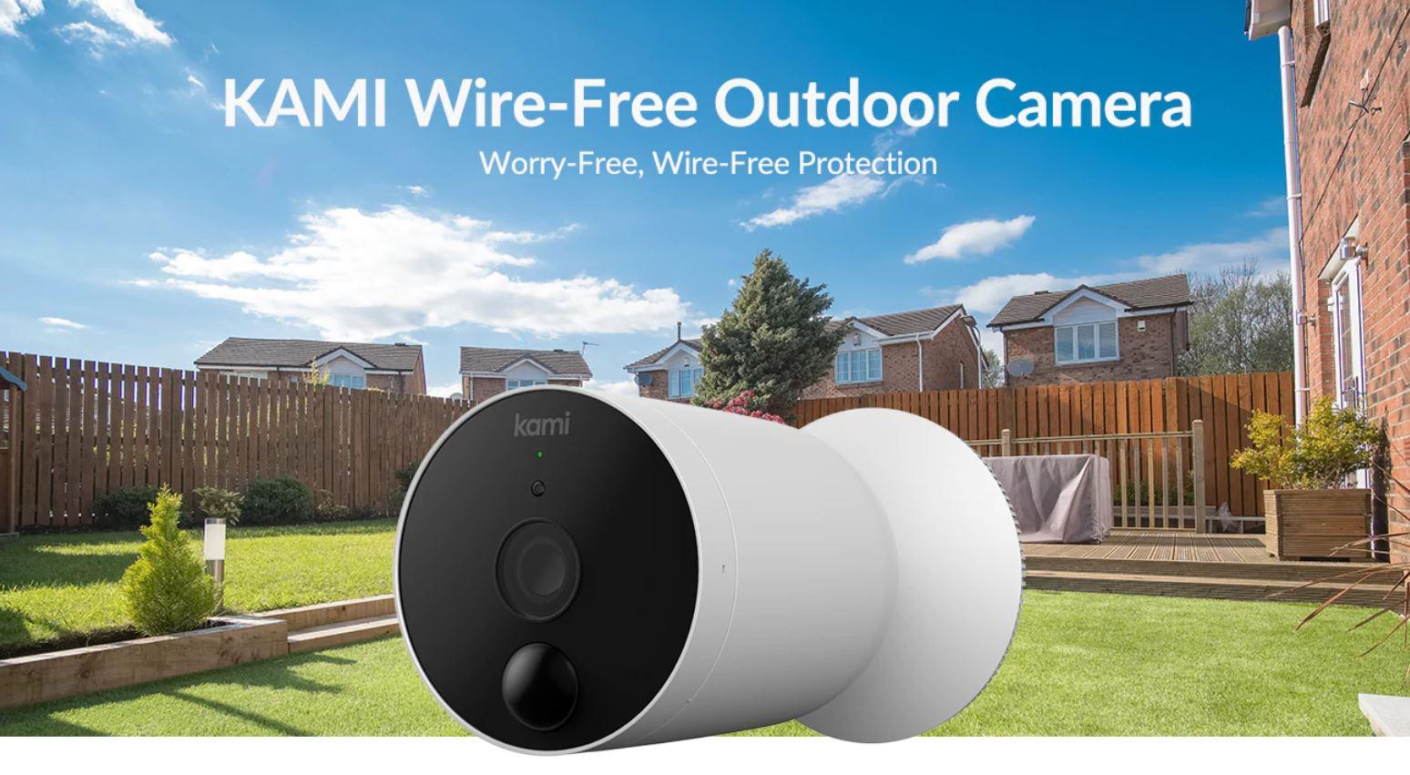 YI Kami Wire-free Outdoor Camera zewnętrzna kamera IP bezprzewodowa