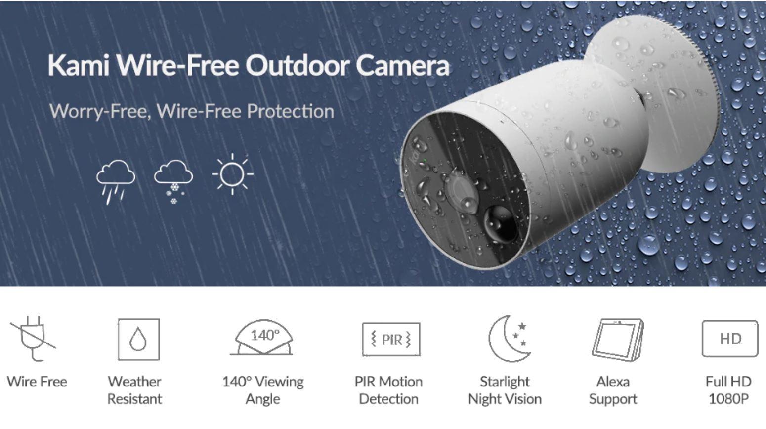 YI Kami Wire-free Outdoor Camera