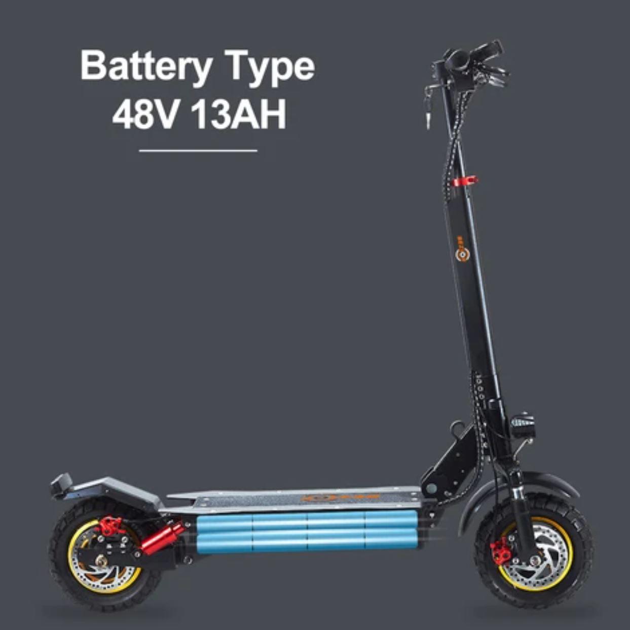 hulajnoga elektryczna Bezior S1 - bateria