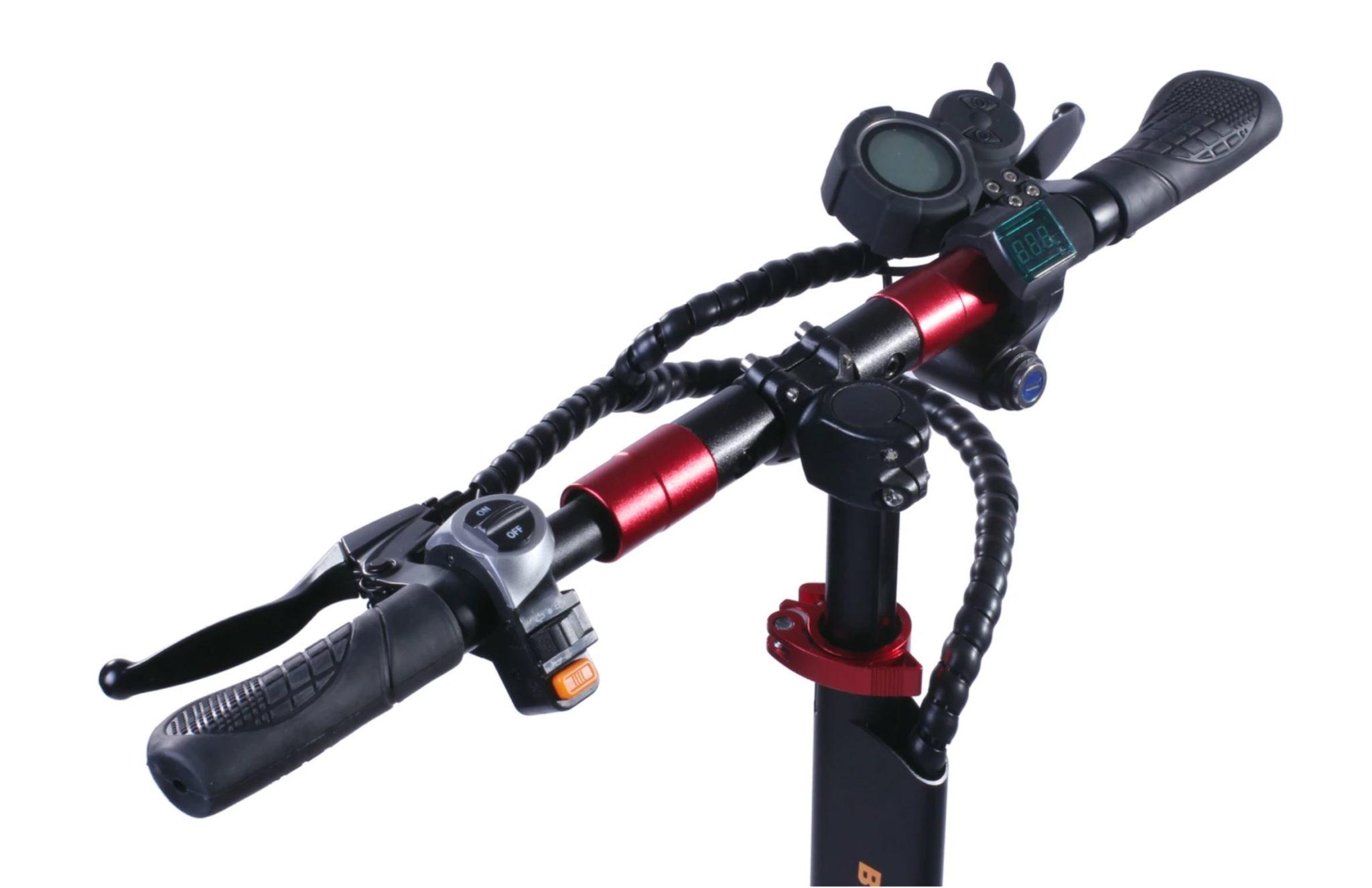hulajnoga elektryczna Bezior S1 - kierownica