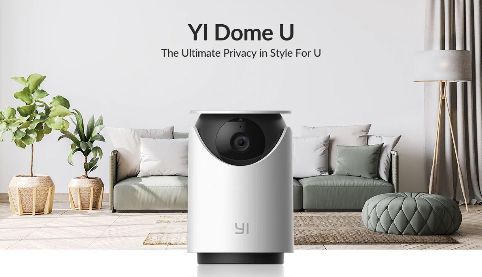 kamera YI Dome U - nowość z Aliexpress
