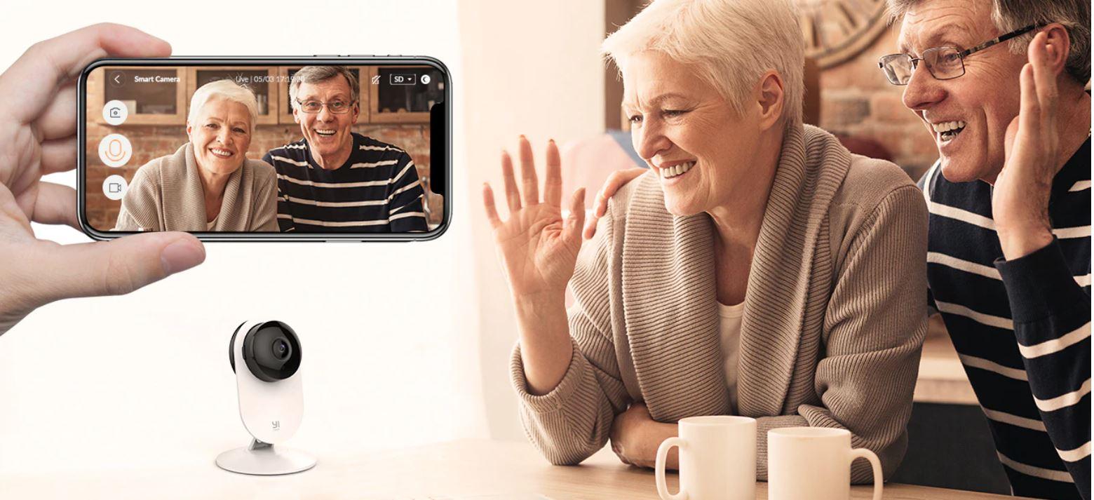 rozmowy video poprzez kamerę IP z Aliexpress