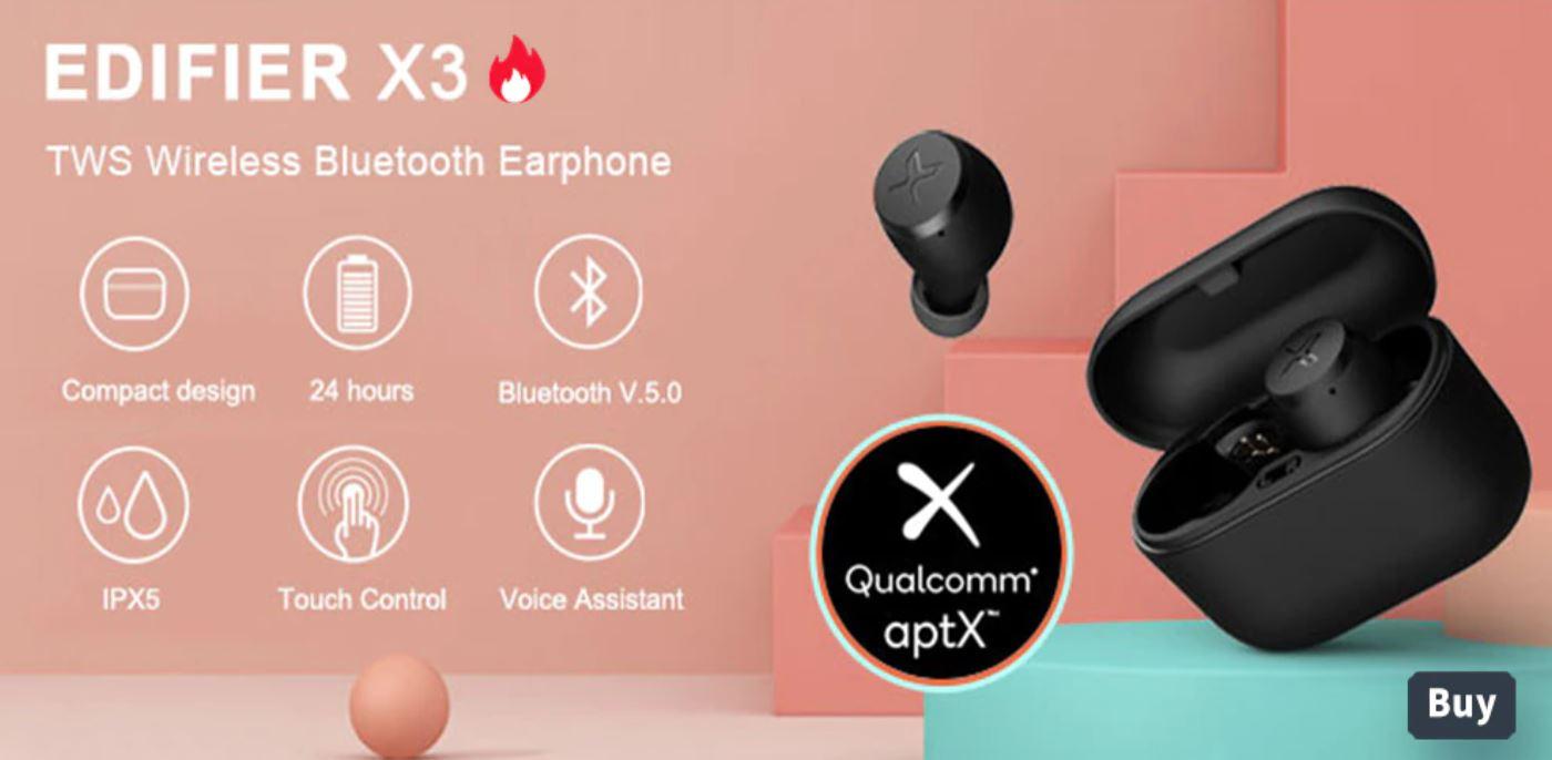 słuchawki Edifier X3 - bestsellery Aliexpress