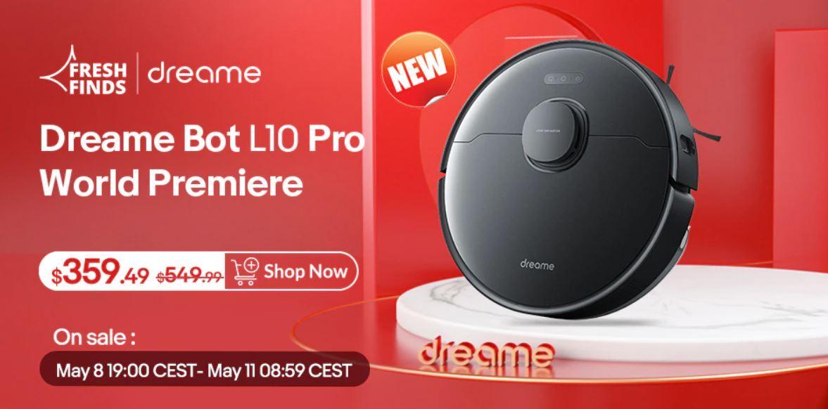 Dreame Bot L10 Pro - promocja w związku z premierą