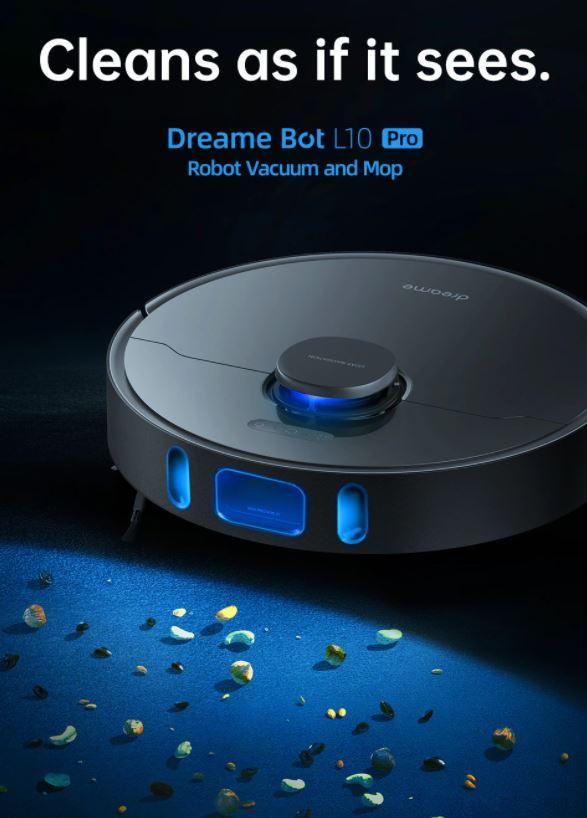 Dreame Bot L10 Pro - robot sprzątający który widzi
