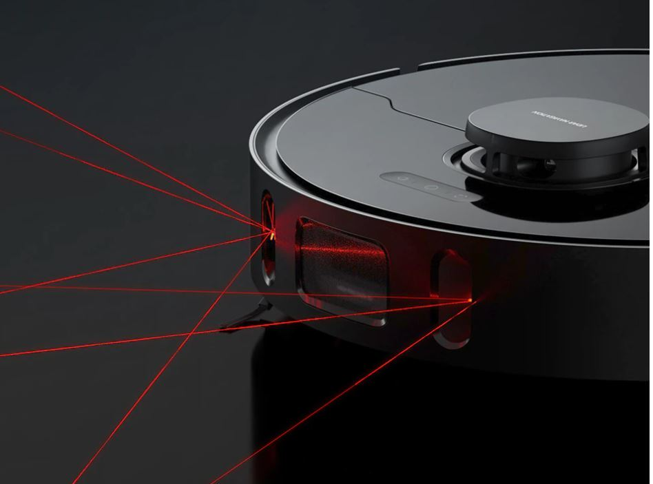 Dreame Bot L10 Pro - system LiDAR