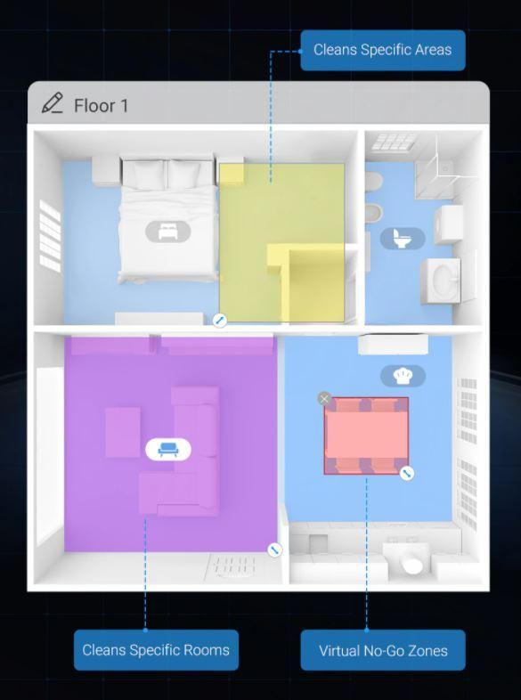 Dreame Bot L10 Pro - tworzenie map