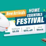 Home essentials festival - rpomocja geekbuying