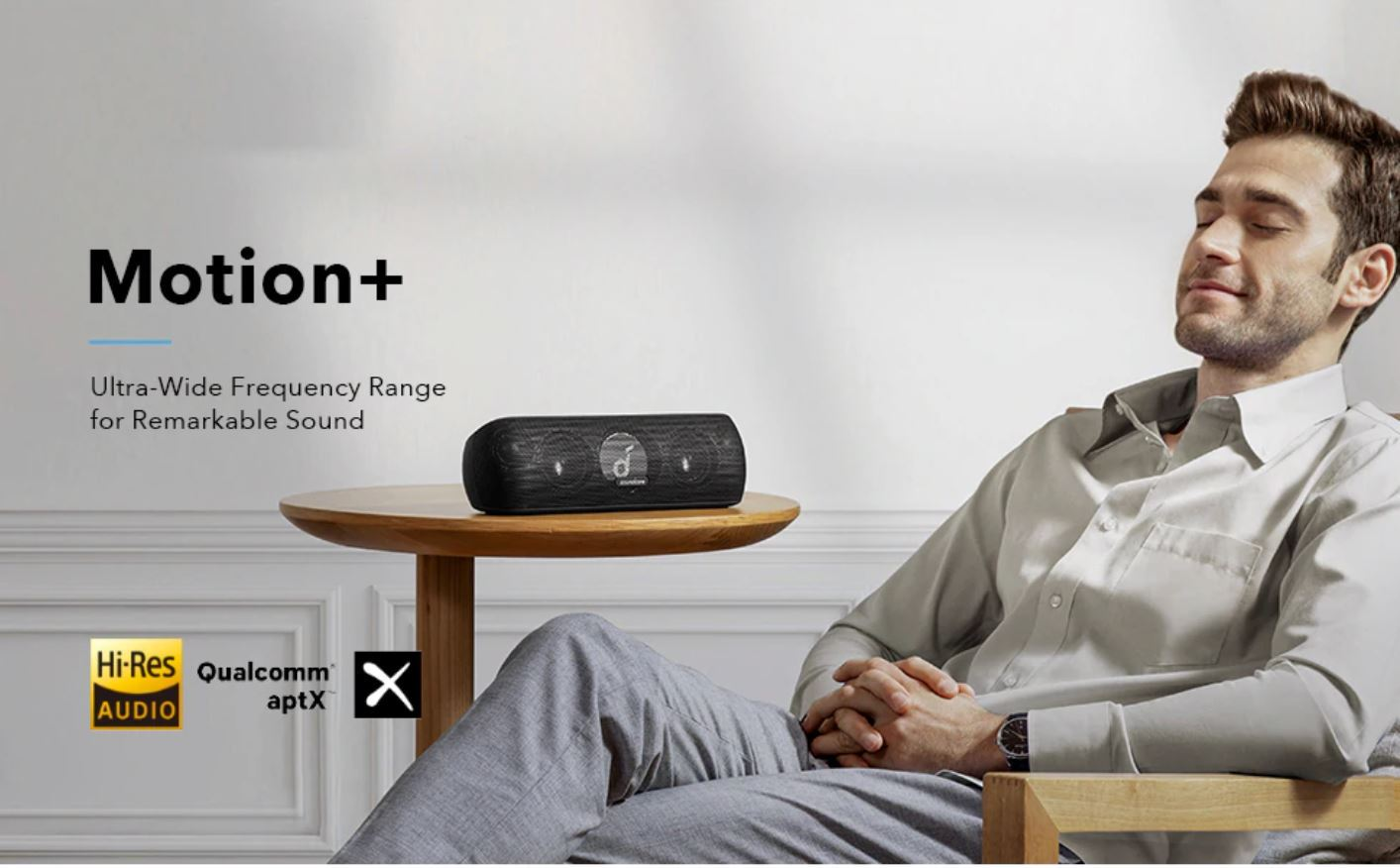 Święto marki Anker na Aliexpress - Anker Soundcore Motion+ Bluetooth Speaker