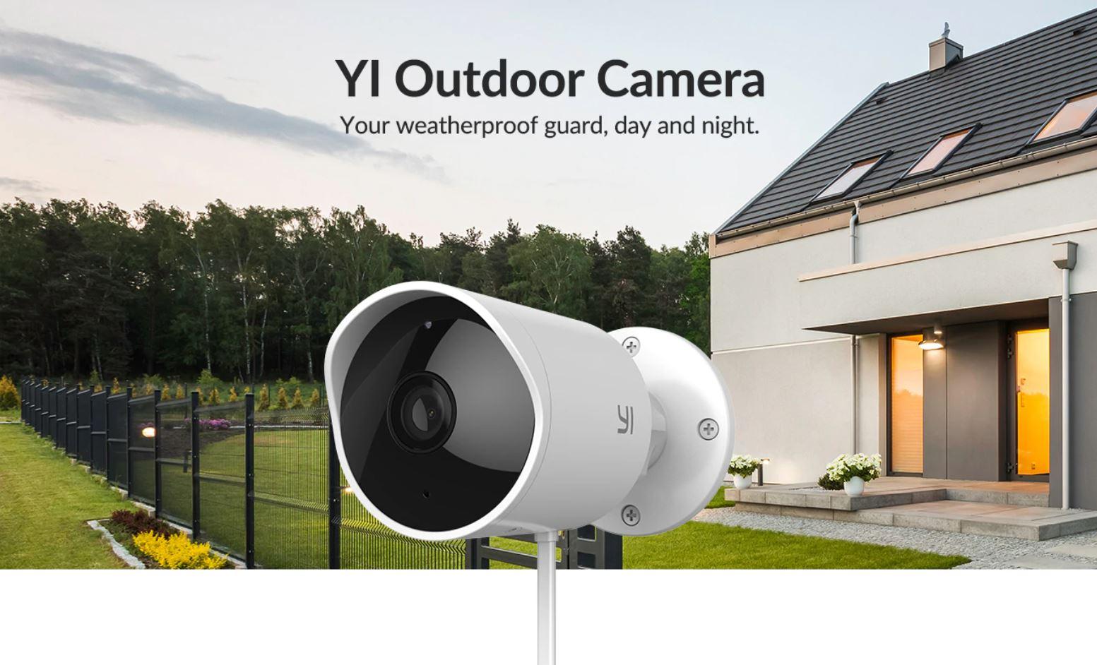 kamera YI Outdoor Camera z Aliexpress