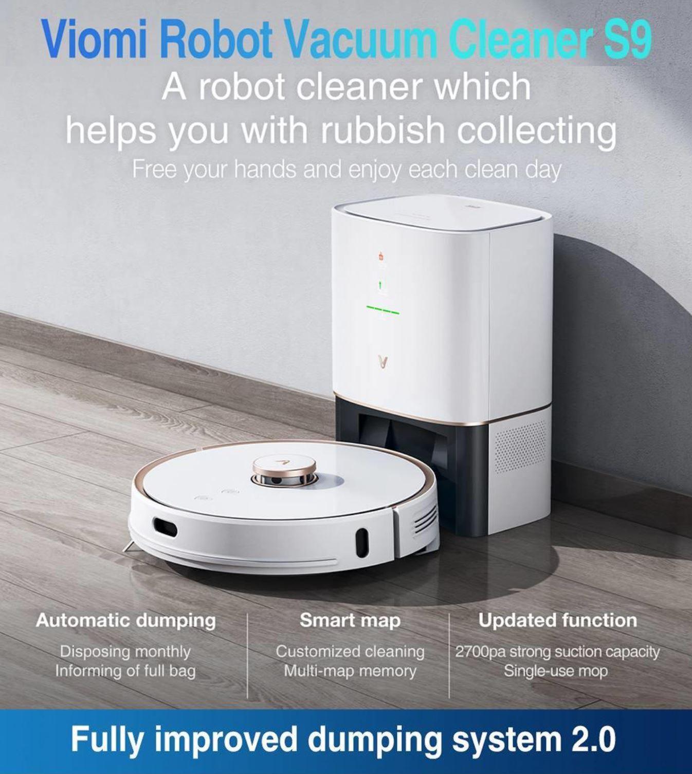 roboty sprzątające - Viomi S9