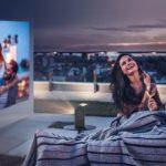 Kino domowe z Aliexpress - projektor BYINTEK P20 Portable Smart Projector