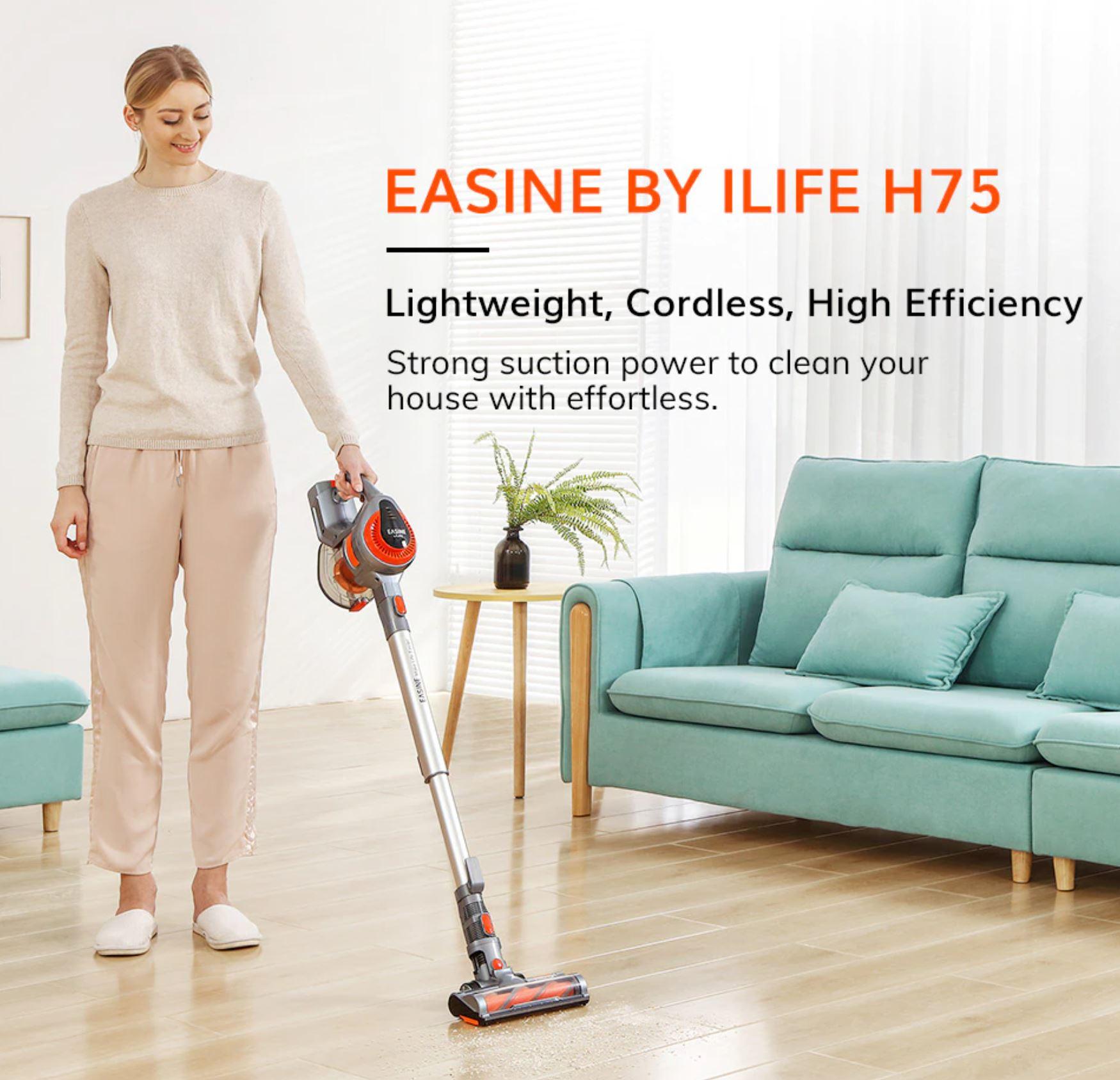 bezprzewodowy odkurzacz pionowy Easine by iLife H75