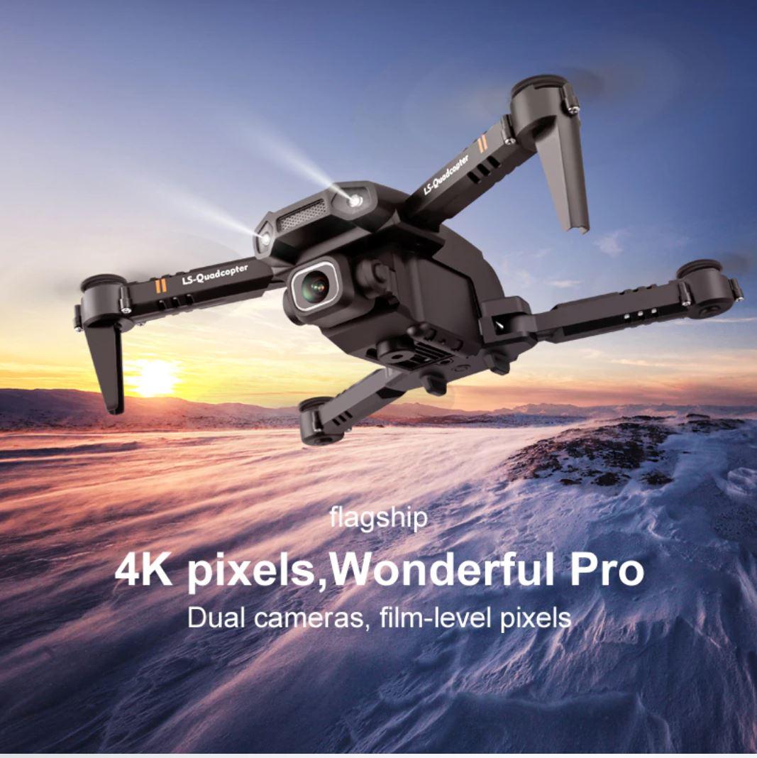 Drony od 50 zł i inne zabawki dla dużych chłopców w promocji Aliexpress - JINHENG Mini Drone XT6 - tani dron w locie