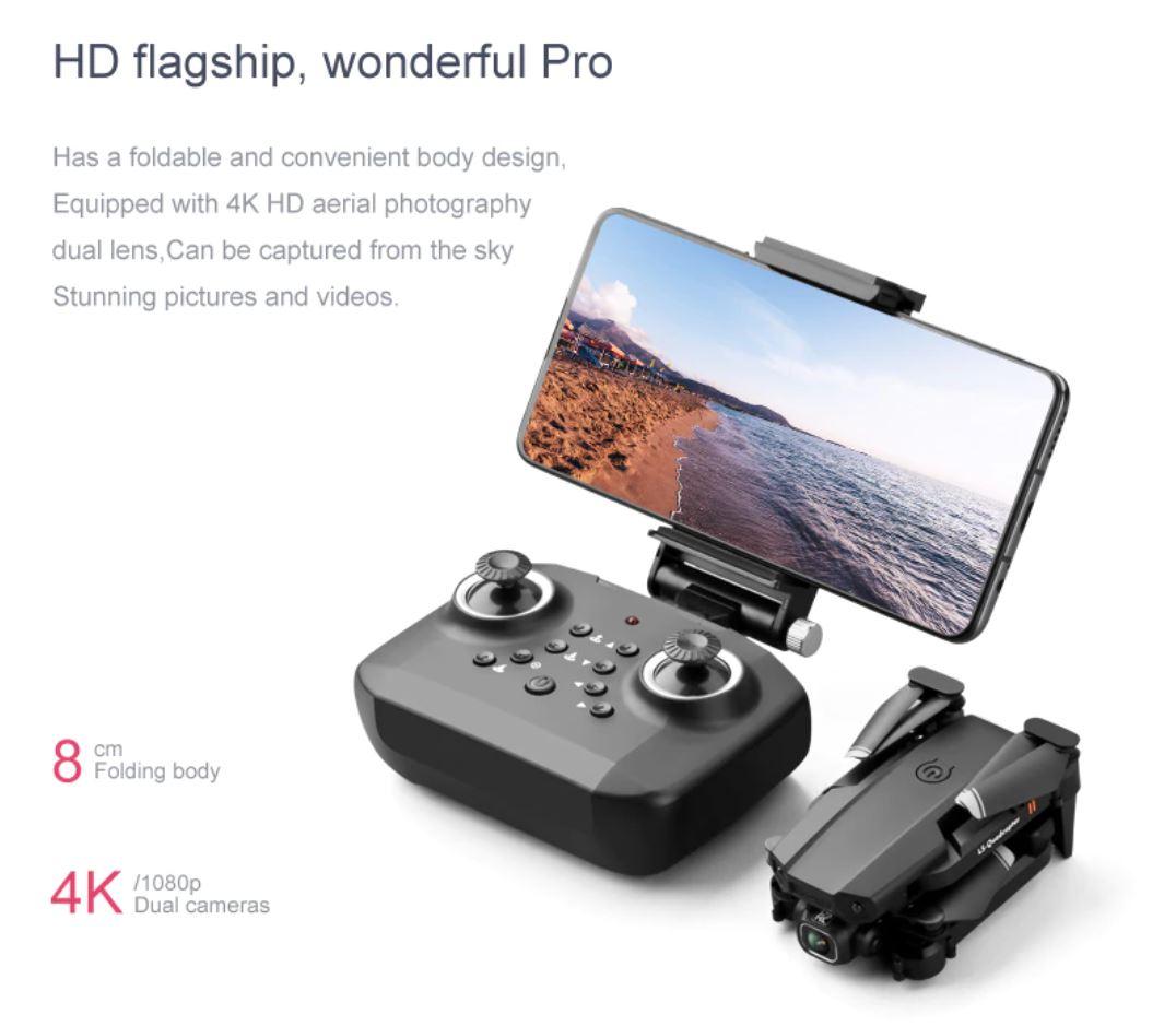Drony od 50 zł i inne zabawki dla dużych chłopców w promocji Aliexpress - JINHENG Mini Drone XT6