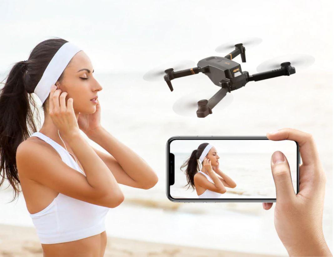 Drony od 50 zł i inne zabawki dla dużych chłopców w promocji Aliexpress - V4 Drone