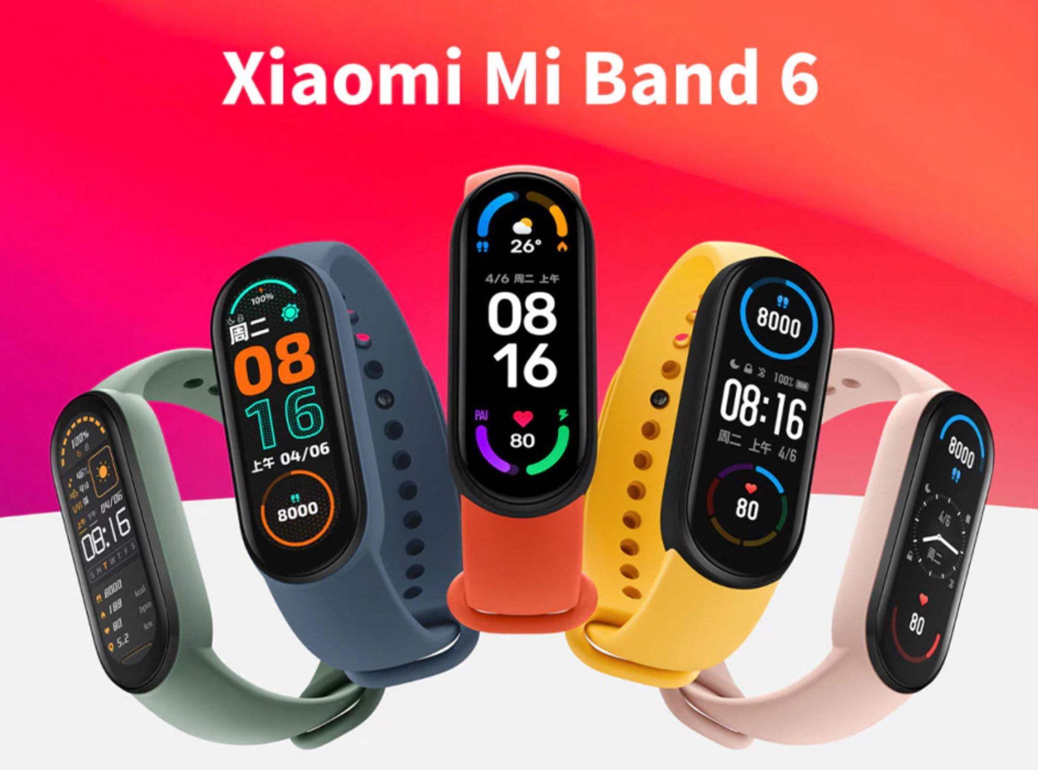 Dzień Ojca z Aliexpress - pomysły na prezent dla faceta - Xiaomi Mi Band 6