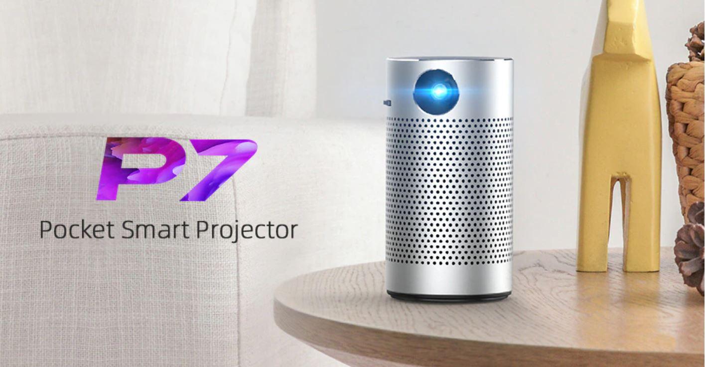 Kino domowe z Aliexpress - projektor BYINTEK P7 Pocket Smart Projector
