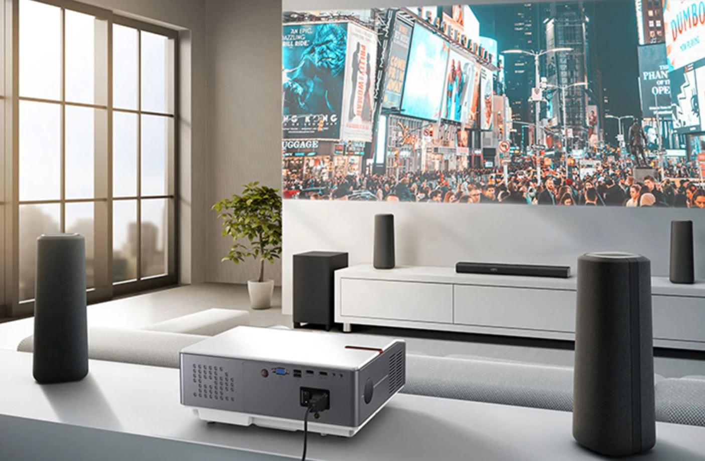 Kino domowe z Aliexpress - projektor ThundeaL TD96