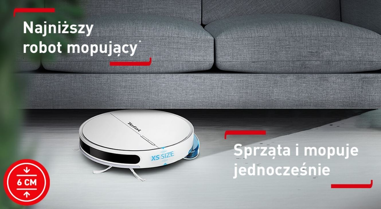 Najpopularniejsze roboty sprzątające - TOP 10 - Tefal Xplorer Serie 60