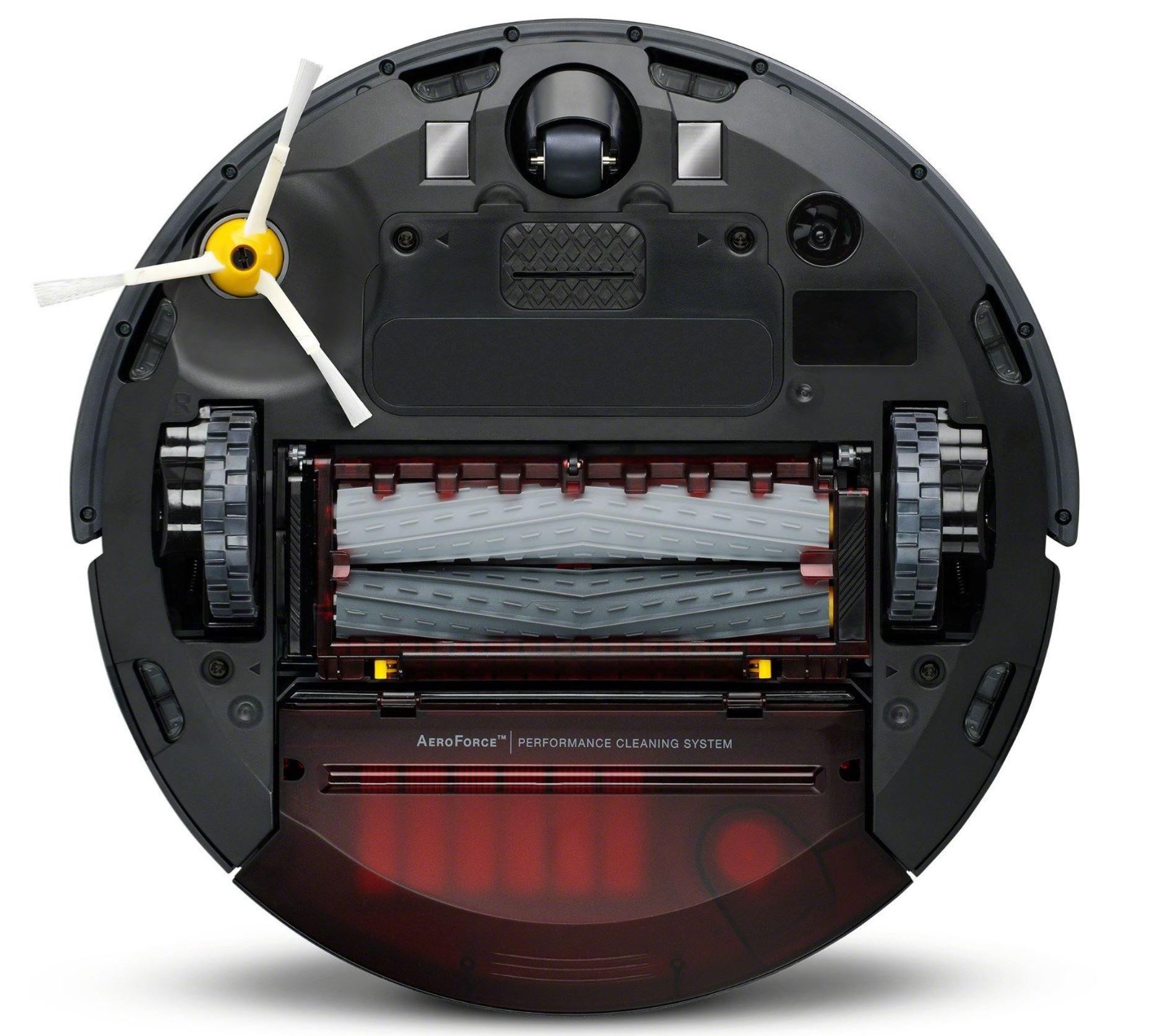 Najpopularniejsze roboty sprzątające - TOP 10 - iRobot Roomba 976 - podwójne gumowe szczotki