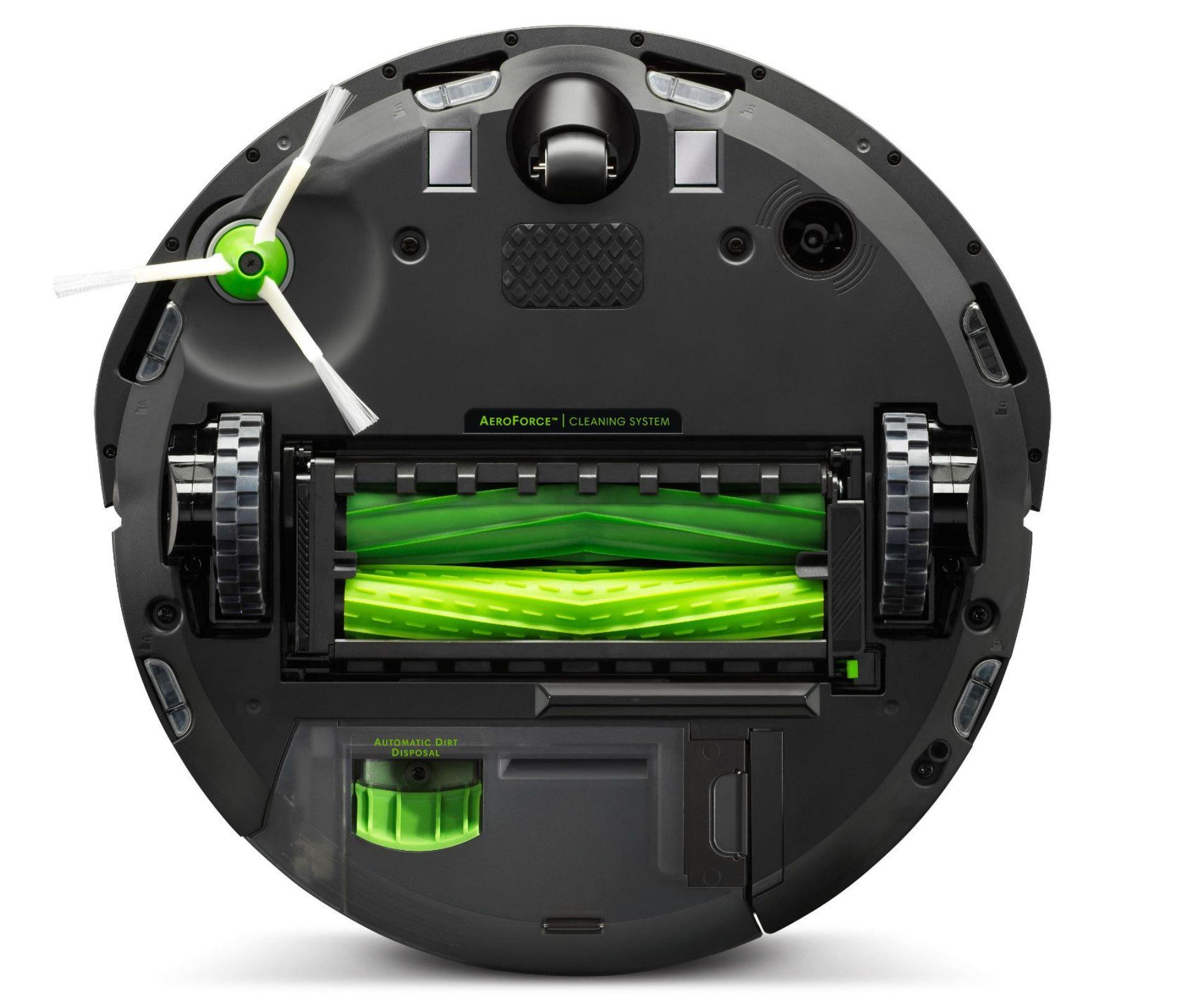 Najpopularniejsze roboty sprzątające - TOP 10 - iRobot Roomba i7 - podwójne gumowe szczotki