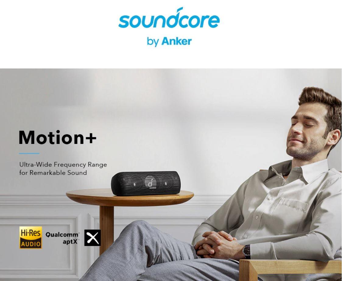 Obłędne oferty w Letnie Wyprzedaży Aliexpress - głośnik soundcore by Anker - Motion +